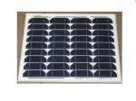 Солнечная панель монокристаллическая HQ-solar HQ025M-30W 12v (25,1V 1,51A)