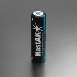MastAk 18650 2200mah 3.7v со схемой защиты