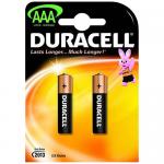 Duracell MN2400 2 блистер AAA 1.5v (Alkaline)