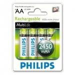 Philips Пальчиковые R6/AA 2450mah NiMH