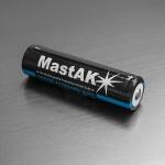 MastAk 18650 3100mah 3.7v со схемой защиты