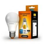 VIDEX LED Лампа A60e 9w E27 3000K 220v