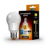 VIDEX LED Лампа A60 11w E27 3000K 220v