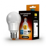 VIDEX LED Лампа A60 15w E27 4100K 220v