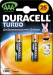 Duracell MX2400 TURBO 2 блистер AAA 1.5v (Alkaline)