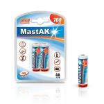 MastAK Пальчиковые R6/AA 700mah Ni-Cd