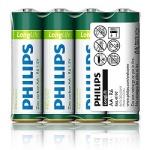 Philips Long Life R6/AA 1.5v (Солевая)