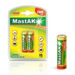 MastAK Пальчиковые R6/AA 2500mah NiMH