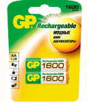 GP Пальчиковые R6/AA 1600mah NiMH
