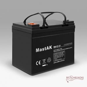 Mastak MA12-33 12v 33Ah