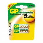 GP Пальчиковые R6/AA 2700mah NiMH